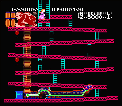 Donkey Kong: Low Sensitivity
