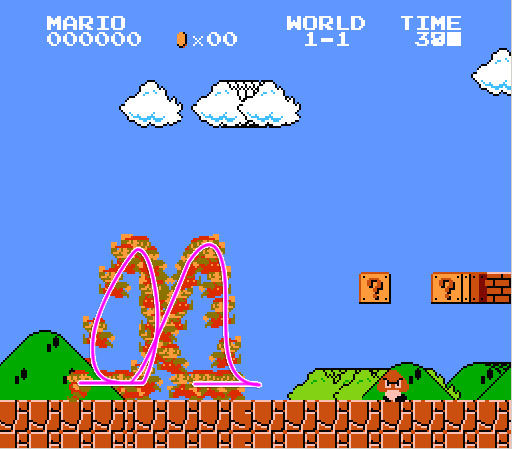 Super Mario: High Sensitivity